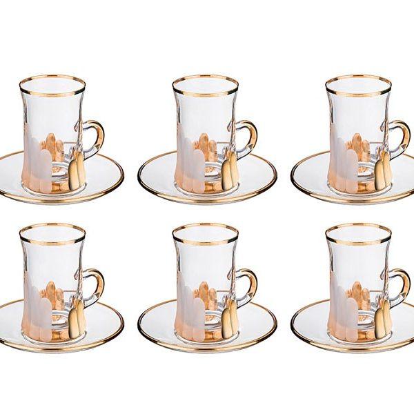 Кофейный набор на 6 персон 12 предметов. 100 мл.