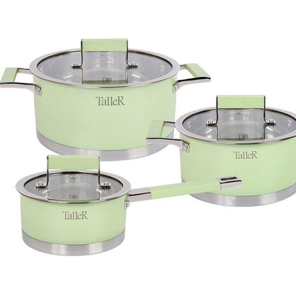 Набор посуды TR 7170 (Минт), 6 предметов